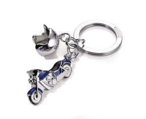 TROIKA KR13-23/CH, Schlüsselanhänger, Blau, Silber, Abbildung, 35 mm, 19 mm, 40 g