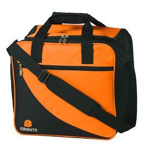 Bowlintasche Ebonite Basic 125 für Bowlingball und Bowlingschuhe Orange