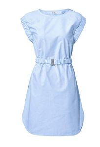 rick cardona by heine Kleid knielanges Etuikleid Cocktailkleid Blau, Größe:38