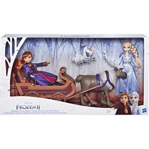Hasbro Disney Die Eiskönigin 2 Schlittenfahrt mit Sven und den Schwestern Elsa und Anna