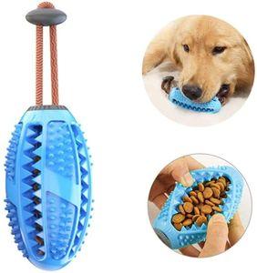 Zahnbürsten-Stick,Hundezahnbürste Hundespielzeug Kauspielzeug,Ball Leckerli-Spender für Hunde Welpen-Zahnpflege, Bürsten und Kauspielzeug, ungiftiges Naturkautschuk