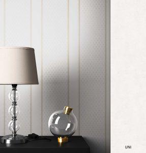 Streifentapete  Weiß   Modern Landhaus  Streifen Linien  Mayer Muster