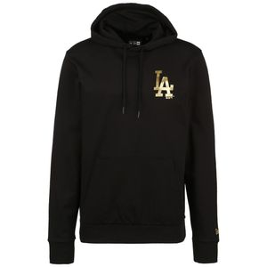 New Era Los Angeles Dodgers Metallic Kapuzenpullover Herren Erwachsene schwarz / gold XXL