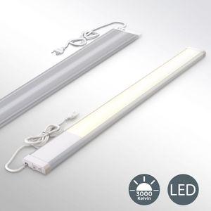LED Unterbauleuchte inkl. 10W LED Platine 1100 Lumen 57,5cm 3000K warmweiß IP20 Unterbaulampe Küchenlampe B.K.Licht