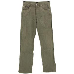 #5484 Hugo Boss, Arkansas ,  Herren Jeans Hose, Cord, grau-braun, W 32 L 32
