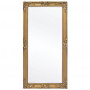 vidaXL Wandspiegel im Barock-Stil 120x60 cm Gold