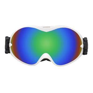 Winter schnee ski brillen männer anti-nebel linse snowboard snowmobile motorrad Farbe Weißer Rahmen