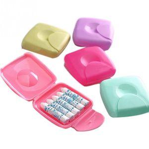 3 Stück Feminine Tampon Aufbewahrungsbox Reise Tragbare Box Fest Verschlossen Haltbare Tampon Box-Zufällige Farbe