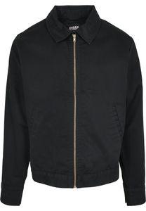 Urban Classics Leichte Jacke Workwear Jacket Black-L