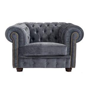 Max Winzer Norwin Sessel - Farbe: grau - Maße: 110 cm x 98 cm x 74 cm; 2909-1100-2044116-F07