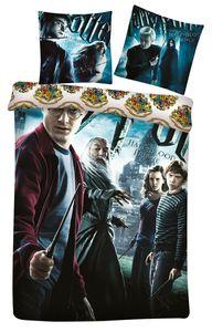 Harry Potter Kinder Erwachsenen Bettwäsche Halbblut Prinz Harry Ron Hermine Dumbledore 140 x 200 Bettdecke 60 x 63 cm Kopfkissen 100 % Baumwolle