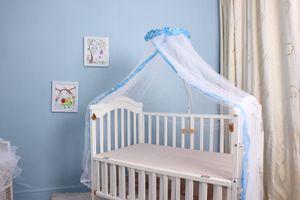Sommer Baby Bett Moskito Mesh Dome Vorhang Netz fš¹r Kleinkind Kinderbett Baldachin
