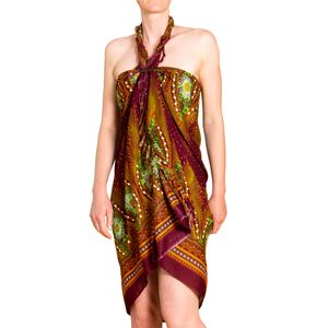 PANASIAM Sarong Peacock, Farbe/Design:V 16