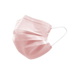 50 Stück Behelfsmaske Alltagsmaske Community-Maske - Farbe rosa
