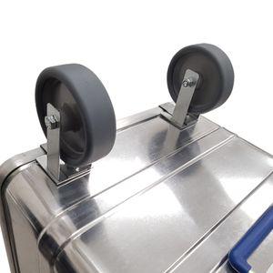 Alutec Räder Anbausatz für Aluboxen CLASSIC COMFORT INDUSTRY