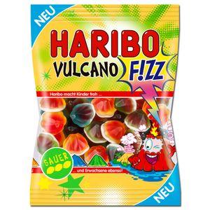 Haribo Vulcano SAUER, Fruchtgummi, 175g Beutel