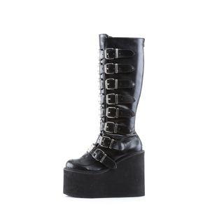 Demonia SWING-815 Stiefel schwarz, Größe:EU-36 / US-6 / UK-3