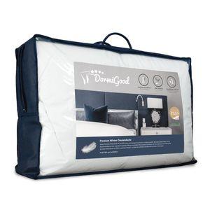 DormiGood |  Premium Daunendecke | 135x200 cm | Winterdecke | 100% Daunen (900g) | Bettdecke | 135x200 | Winterbett | Winter | Warm | Dick | Nomite | Downpass