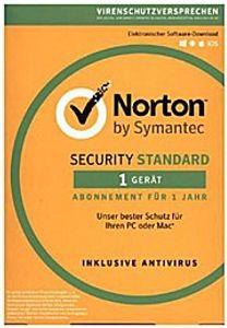 Symantec Norton Security Standard 3.0 [1 Gerät - 1 Jahr - Vollversion]