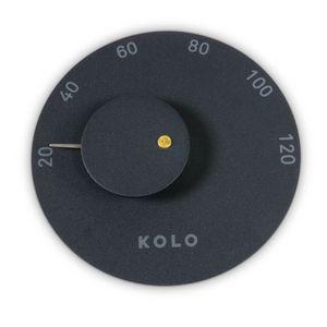 KOLO Sauna Thermometer 2 Schwarz