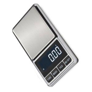 LCD Display Digital Pocket Waagen 0,01g Präzision Haushalt Mini Gramm Tasche Fall Küche Schmuck Gewicht Waagschale