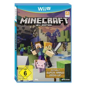 Nintendo Wii Minecraft U Edition inkl. Super Mario Mash-up