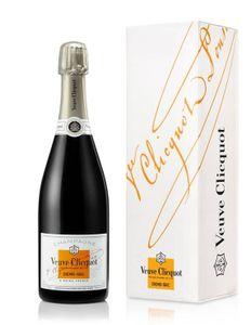 Veuve Clicquot Demi-Sec Champagner in Geschenkpackung Champagne Frankreich | 12 % vol | 0,75 l