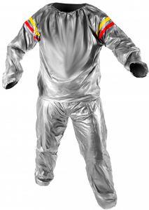 Saunaanzug Schwitzanzug Sauna Suit für Fitness Schweissanzug  909, Größe:XXL