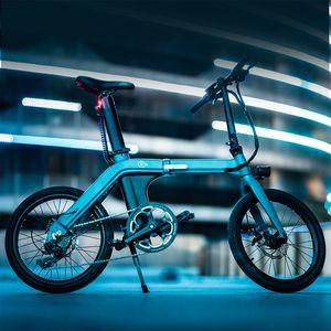 "FIIDO D11 20"" Elektrofahrrad E-Bike Citybike Faltrad für Erwachsene mit ausbaubarer 11,6-Ah-Batterie, 36V 250W 80-100 Km Mileage, LCD-Display, 7-Gang-Shimano, Leicht"