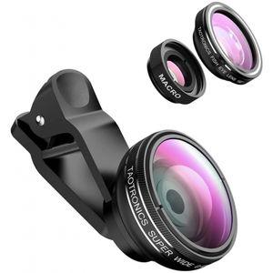 """TaoTronics TT-SH014 Fisheye Objektiv Clip-On Kamera Adapter Smartphone """"wie neu"""""""