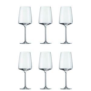 Schott Zwiesel 120586 Sensa Weinkelch fruchtig und fein 535 ml, Tritan-Kristallglas, klar (6 Stück)