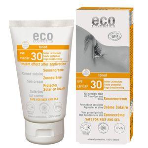 eco cosmetics Sonnencreme getönt LSF 30 - 75 ml