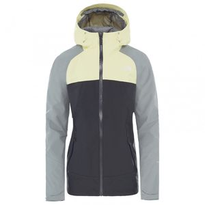 The North Face W Stratos Jacket Palelimylw/Vndsgry/Mldgry Xl