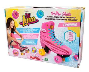 Giochi Preziosi Soy Luna YLU324, Kinder, Weiblich, Pink, Muster, Hoher Stiefel, Jam roller skates