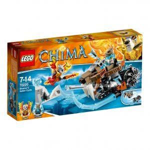 Lego CHI Sir Fangar Legends of Chima, LEGO, 7 Jahr(e), Schwarz, Blau, Weiß, 14 Jahr(e)