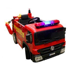 Feuerwehr Kinderauto Feuerwehrauto Fire-Truck Kinderfahrzeug Kinder Elektroauto