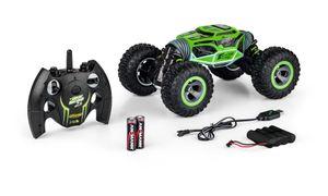 Carson 1:10 My First Magic Machine Grün 2.4G 100%RTR, verschiedene Fahrmodi, ferngesteuertes Auto, 500404202