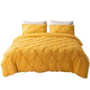 Bettwäsche 168x229cm polyester fiber 2 teilig - Ingwer Bettbezug Set, weiche Flauschige Bettbezüge mit Reißverschluss und 1 mal 50x75cm Kissenbezug