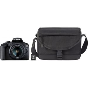 Canon EOS 2000D EF-S 18-55 IS II Value Up Kit, Farbe:Schwarz
