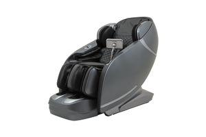 CASADA Massagesessel SKYLINER II - für eine starke Massage - Fernsehsessel Liegesessel grau/schwarz