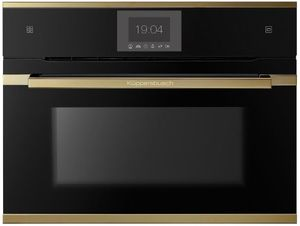 Küppersbusch CBD6550.0S4 Kompakt-Dampf-BO schwarz mit Design-Kit Gold
