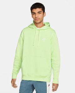 Nike M Nsw Club Hoodie Po Bb Lt Liquid Lime/Lt Liquid L M