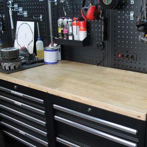Aylo PVC Werkbank Schutzauflage Transparent 2 mm Werkstatt Werktisch Schutzfolie, Länge:120 cm, Breite:60 cm