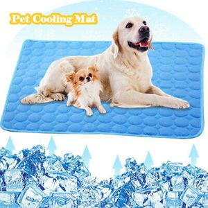 Hund Kühlmatte Sommer Cool Bed Pad Kissen für Haustier Katze / Hund 60*50cm
