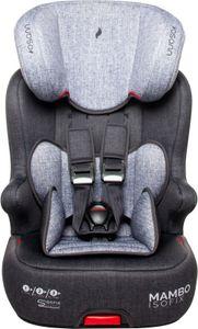 Osann Kinderautositz Mambo Isofix Gruppe 1/2/3 (9-36 kg) Kindersitz - Black Melange