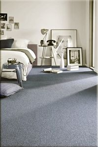 Einfarbiger Teppich Eton für Zimmer, Wohnzimmer, Schlafzimmer, Teppichboden Auslegware, Verschiedene Größen, silber grau 300x400 cm