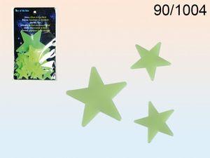 Out of the Blue Sterne leuchten im dunkeln 2 Größen 24 teiliges Set