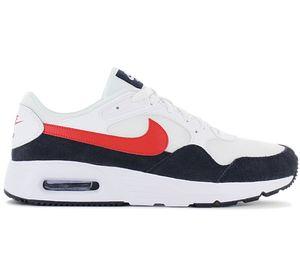 Nike Air Max SC Sneaker Herren CW4555-103 weiß/obsidian/rot 42