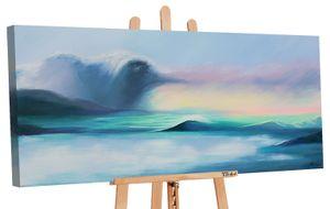 """YS-Art Acryl Gemälde """"Die Größe des Meeres""""  027"""