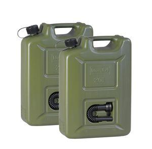 Benzinkanister 20L Kunststoff Plastikkanister Dieselkanister 2x